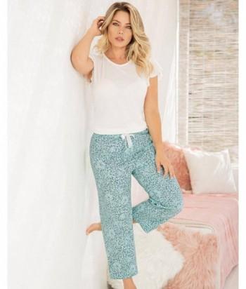 Pijama Mujer Manga Con Bolero Pantalón