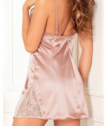 Pijama para Mujer Con detalles en encaje Palo de Rosa