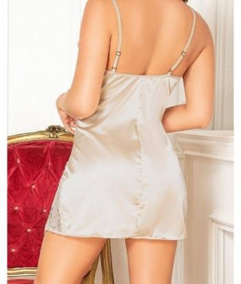 Pijama para Mujer Con detalles en encaje Vainilla