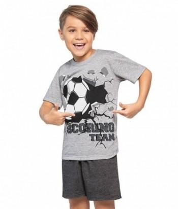 Pijama Niño Manga Corta Pantaloneta