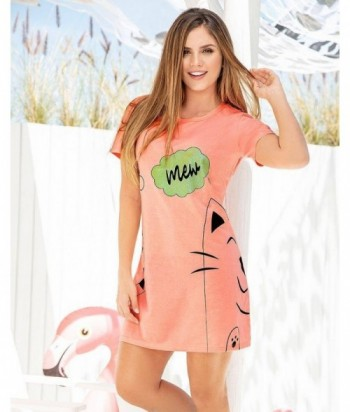 Pijama Mujer Manga Corta Vestido