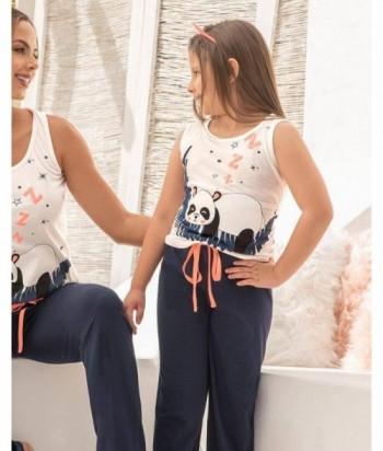 Pijama Niña Manga Sisa Pantalón