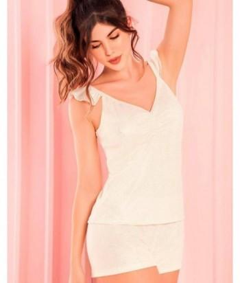 Pijama Mujer Tiras Short