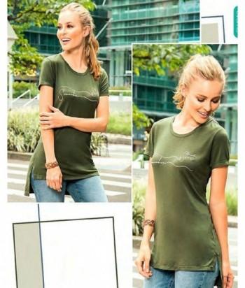 Blusa para Mujer Cola de pato Verde Militar