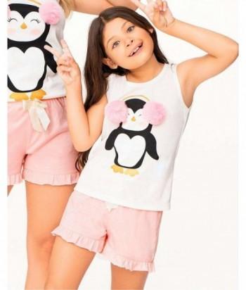 Pijama Niña Manga Sisa Short