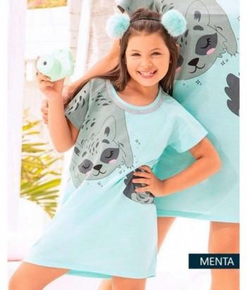 Pijama Niña Manga Corta Vestido