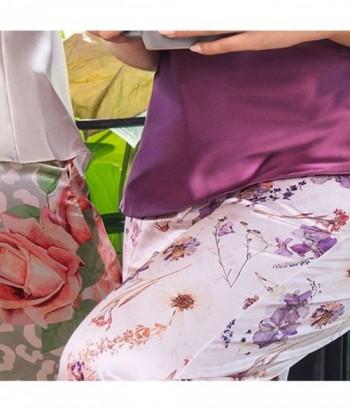 Tiras Pijama en Satín Estampada