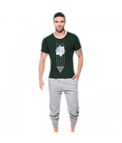Pijama-Para-Hombre-Made-For-Living-Verde