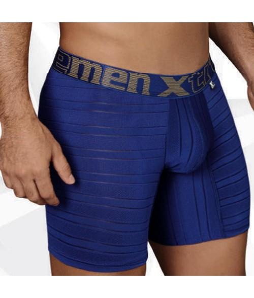 Boxer para Hombre Boxer-Microfibra Jaquard  - Azul