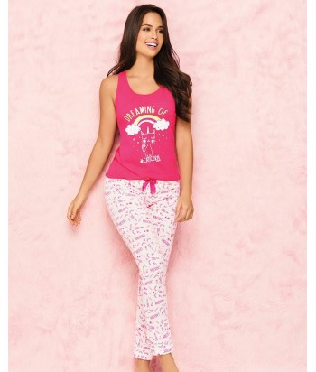 Pijama-mujer-cute-blusa-sexy-estampada-caticornio-catcorn-gato-jogger-estampado-rosado-mujer-sensual