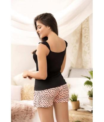Pijama para Dama Blusa de tiras Cachetero Estampada
