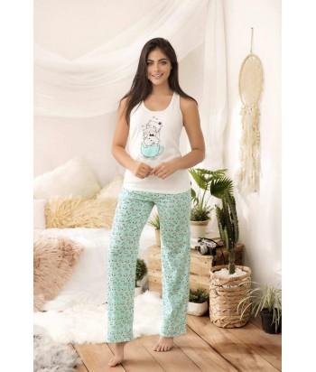 Pijama Dama Pantalón Espalda atlética