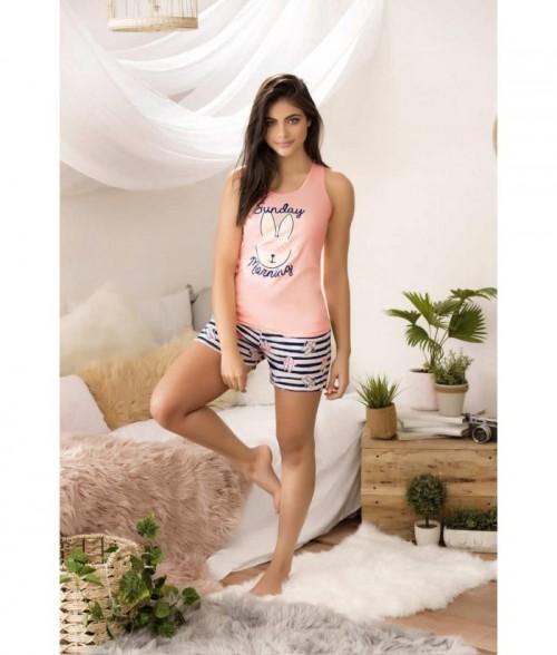 Pijama Dama Short Espalda atlética