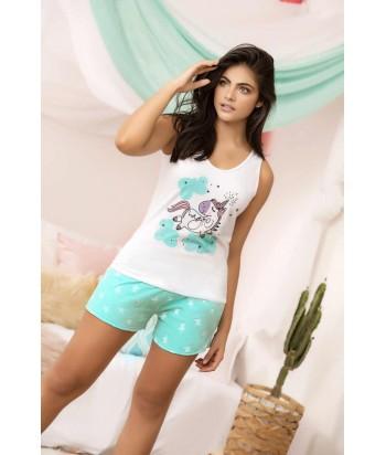Pijama Dama Short Unicornio