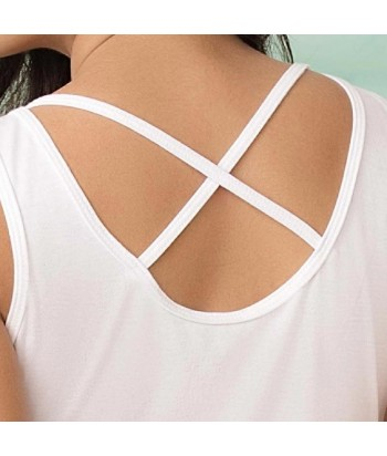 Camiseta estampada de espalda descubierta