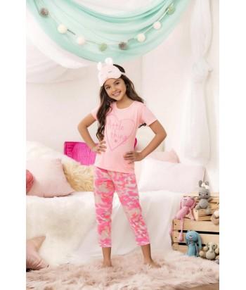 Pijama Niña Capri Estampada