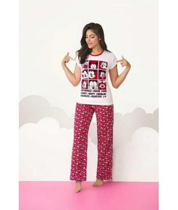 Pijama Dama Pantalón Mickey Mouse Disney