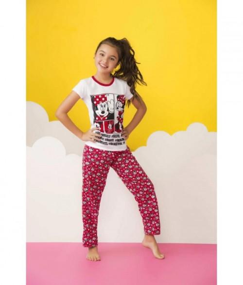 Pijama Niña Pantalón Mickey Mouse Disney