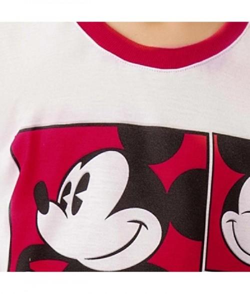 Conjunto infantil de niño con camiseta estampada manga corta y pantalón largo estampado de bota recta.