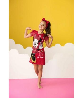 Pijama Niña Vestido Minnie Mouse Disney