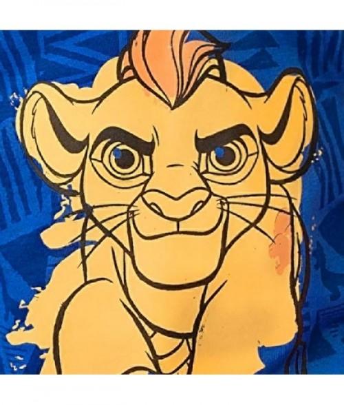 Camiseta niño manga corta con estampado Guardia del leon
