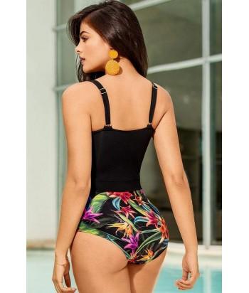 Vestido de Baño para Mujer Enterizo Control abdomen Clásico con control en el abdomen