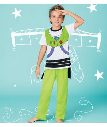 Pijama-buzz-lightgear-camiseta-pantalon-largo-toystory-verde-niño