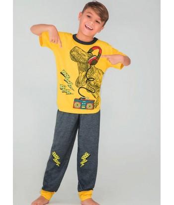 Pijama Niño Manga Corta Pantalón Largo