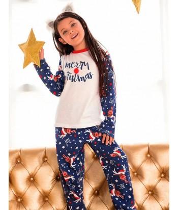 Pijama Niña Manga Larga Pantalón Largo