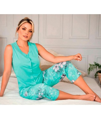 Pijama Mujer Sisa Capri