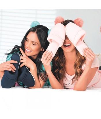 Pantuflas Mujer Acolchadas Contort, Pantufla para Mujer Pantufla Comoda Unitono