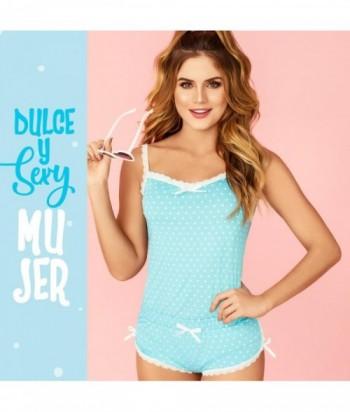 Pijama Mujer Tiras Cachetero