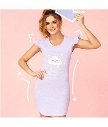Pijama Mujer Manga Sisa Vestido