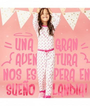 Pijama Niña Manga Larga Pantalón
