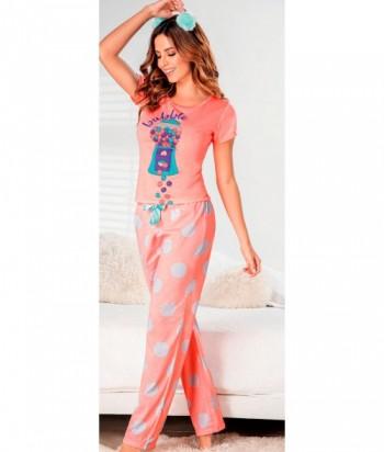 Pijama Mujer Manga Corta Pantalón