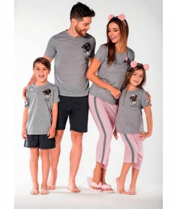 Pijama Hombre Manga Corta Pantaloneta