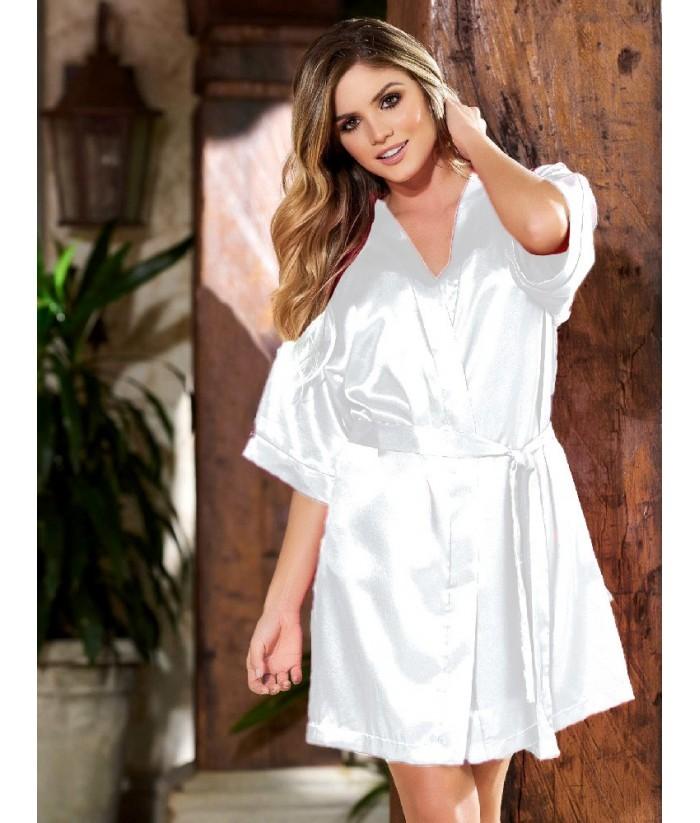 Kimono-satín-Blancomujer-tu-pijama-ropa-interior-lenceria-pijama-babydoll