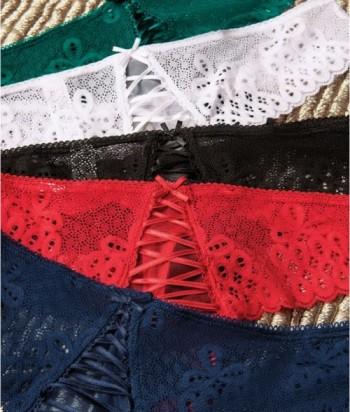 Panty Mujer Brasilera Encaje