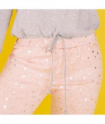 Pijama en satín estampado y liso Pantalón largo - MARIPOSA BLANCA