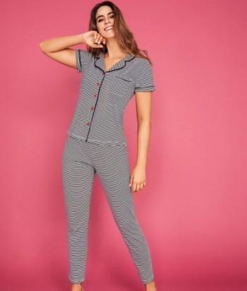 Pijama Dama Manga Corta Pantalón