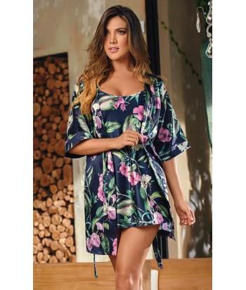 Kimono-estampado-satín-Azulmujer-tu-pijama-ropa-interior-lenceria-pijama-babydoll