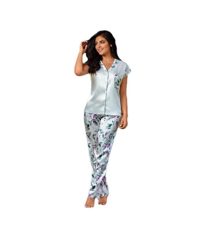 Pijama-satín-pantalón-largo-manga-japonesa-Blancomujer-tu-pijama-ropa-interior-lenceria-pijama-babydoll